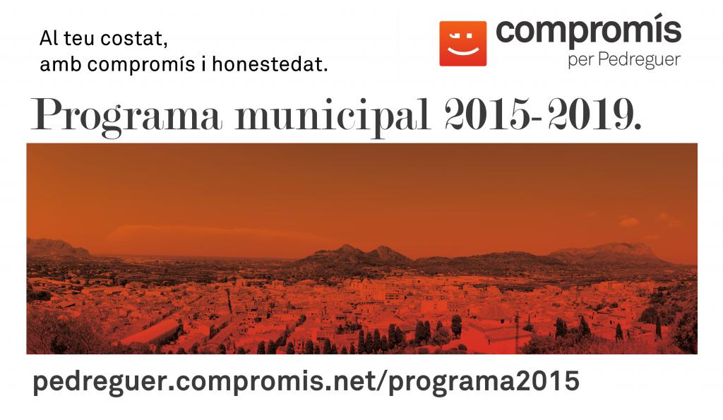 Programa municipal 2015-2019